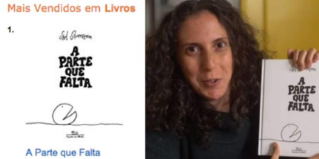 Livro 'A Parte que Falta' vira hit com a influência de Jout Jout.