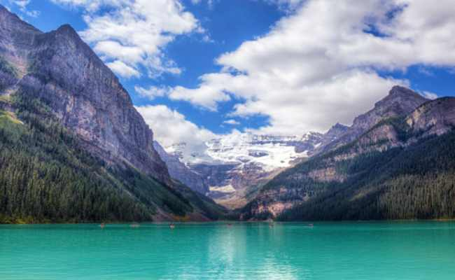 Banff Lake Louise Open After Floods In Alberta Huffpost