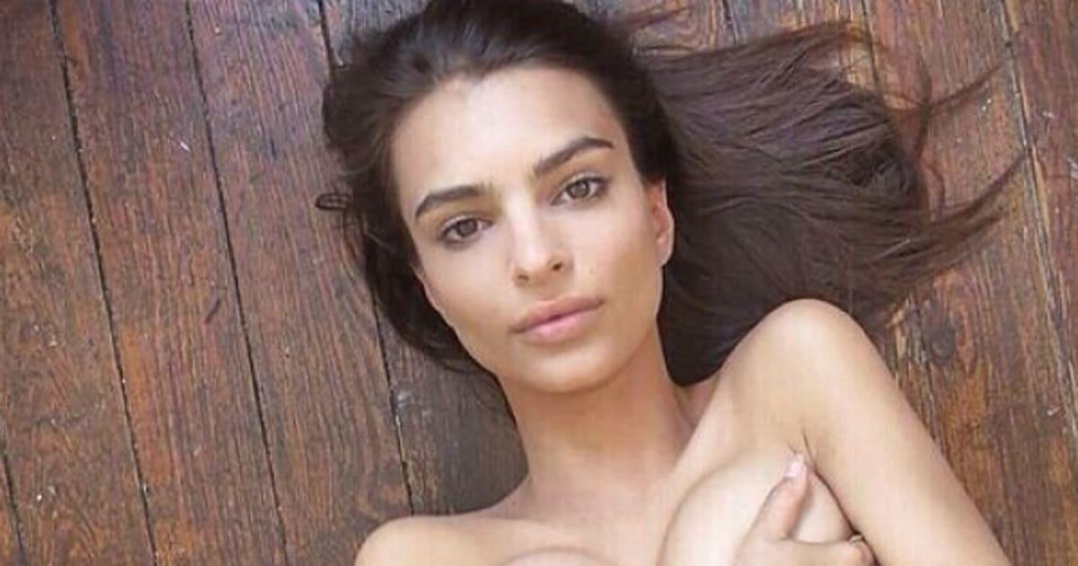 Emily Ratajkowski Goes Topless In New Instagram Pic