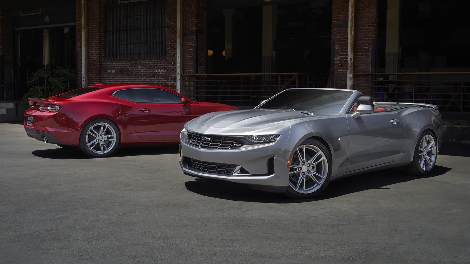 Chevrolet Camaro LS and LT 2021 2021