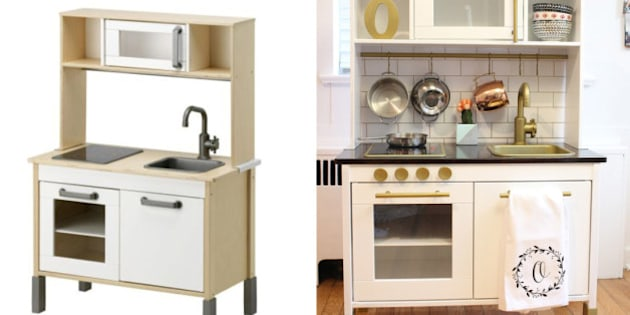Ikea Hacks Adorable Ideas To Remodel The Duktig Play Kitchen