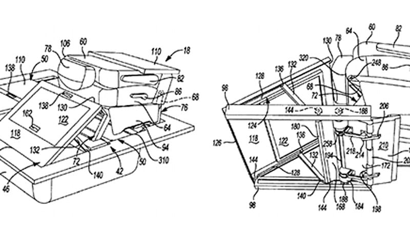 Chrysler patents smarter minivan folding seats