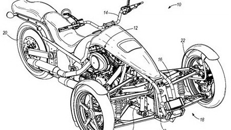 Harley-Davidson trike getting closer to production?