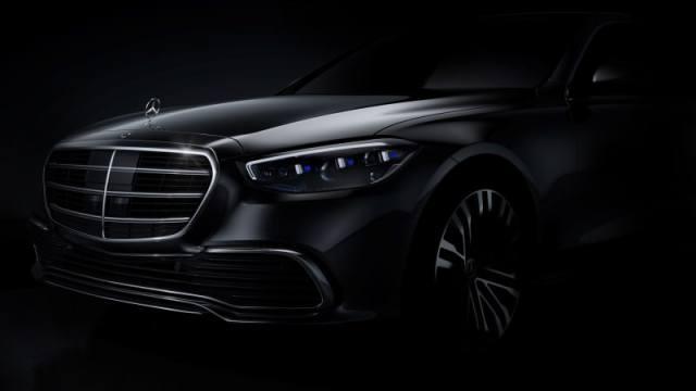 2021 mercedes benz s class teaser