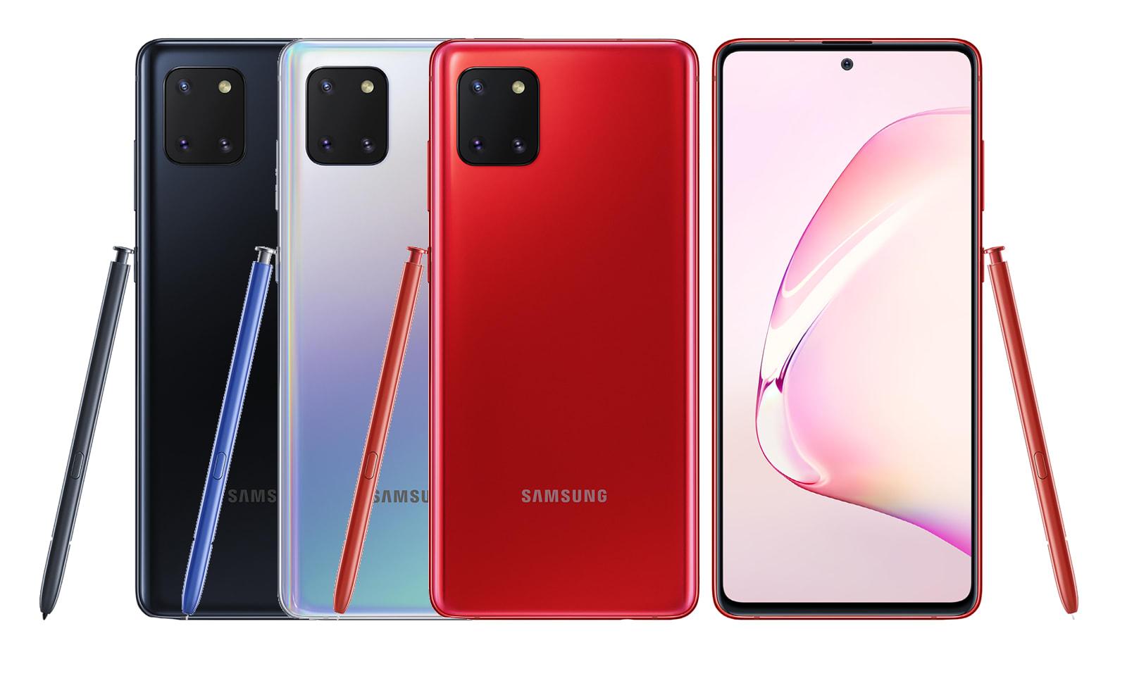 Samsung Galaxy Note 10 Lite 速速來到臺灣