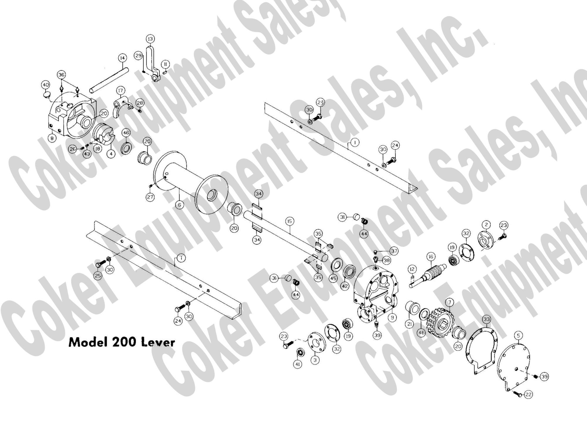 hight resolution of  h200 lever lock