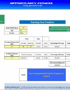 also running time predictor marathon km half km rh opportunityfitness
