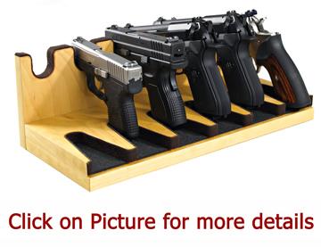 quality pistol racks gun rack