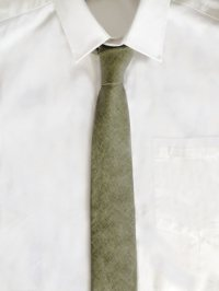 The Grunion Run : Groomsmen Shop - Moss Green Linen Tie ...