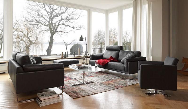 mid century modern living room armchair royal blue furniture inspiration: 30 sofas by cor   homedsgn