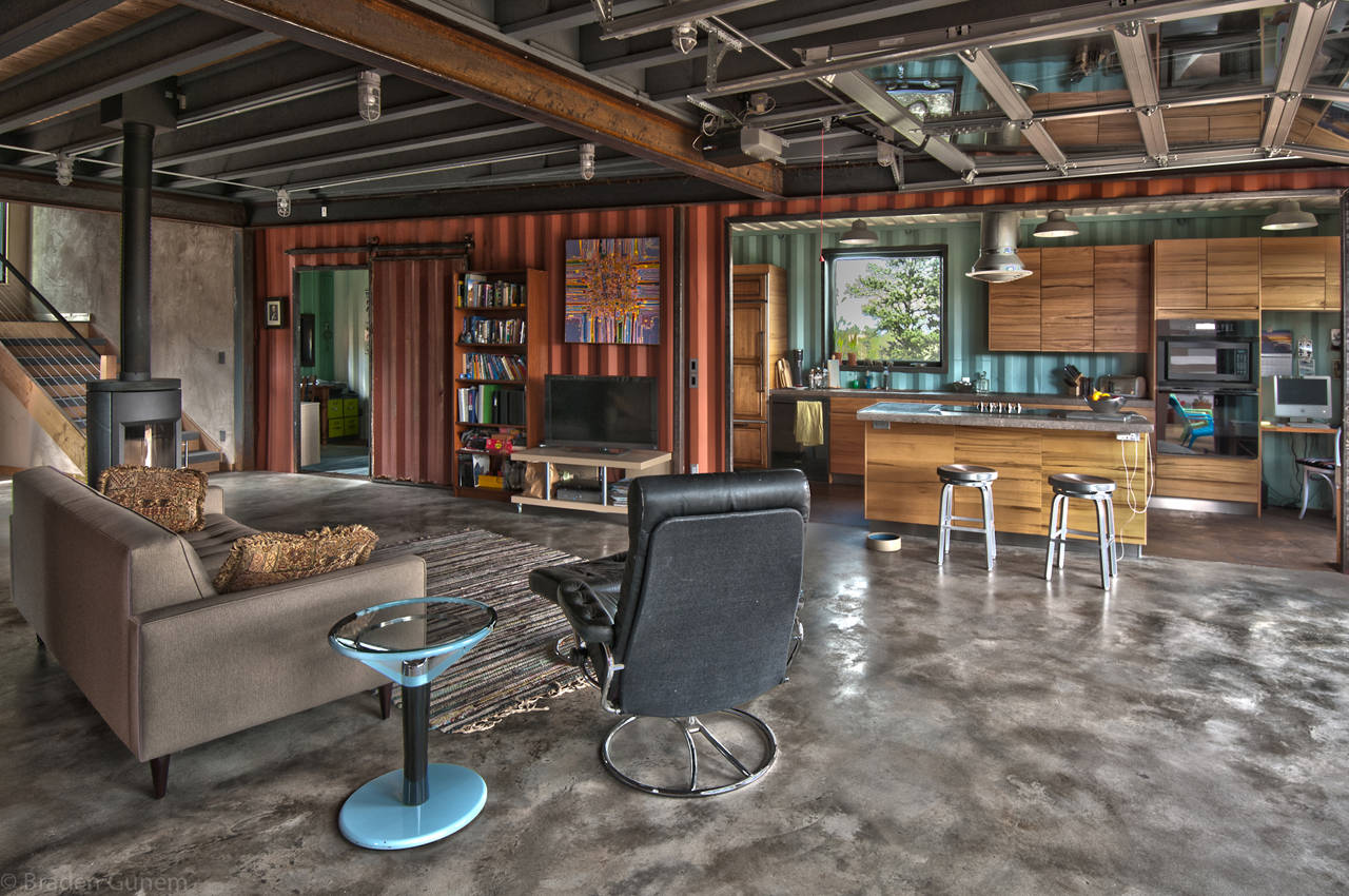 Best Kitchen Gallery: An Overview Of Alternative Housing Designs Part Three Temperate of Cottage Style Container Homes on rachelxblog.com
