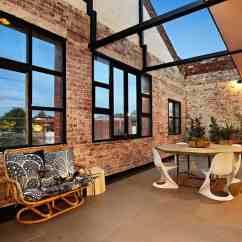 Roller Kitchen Island Tile For Floor New York-style Warehouse Conversion In Melbourne | Homedsgn