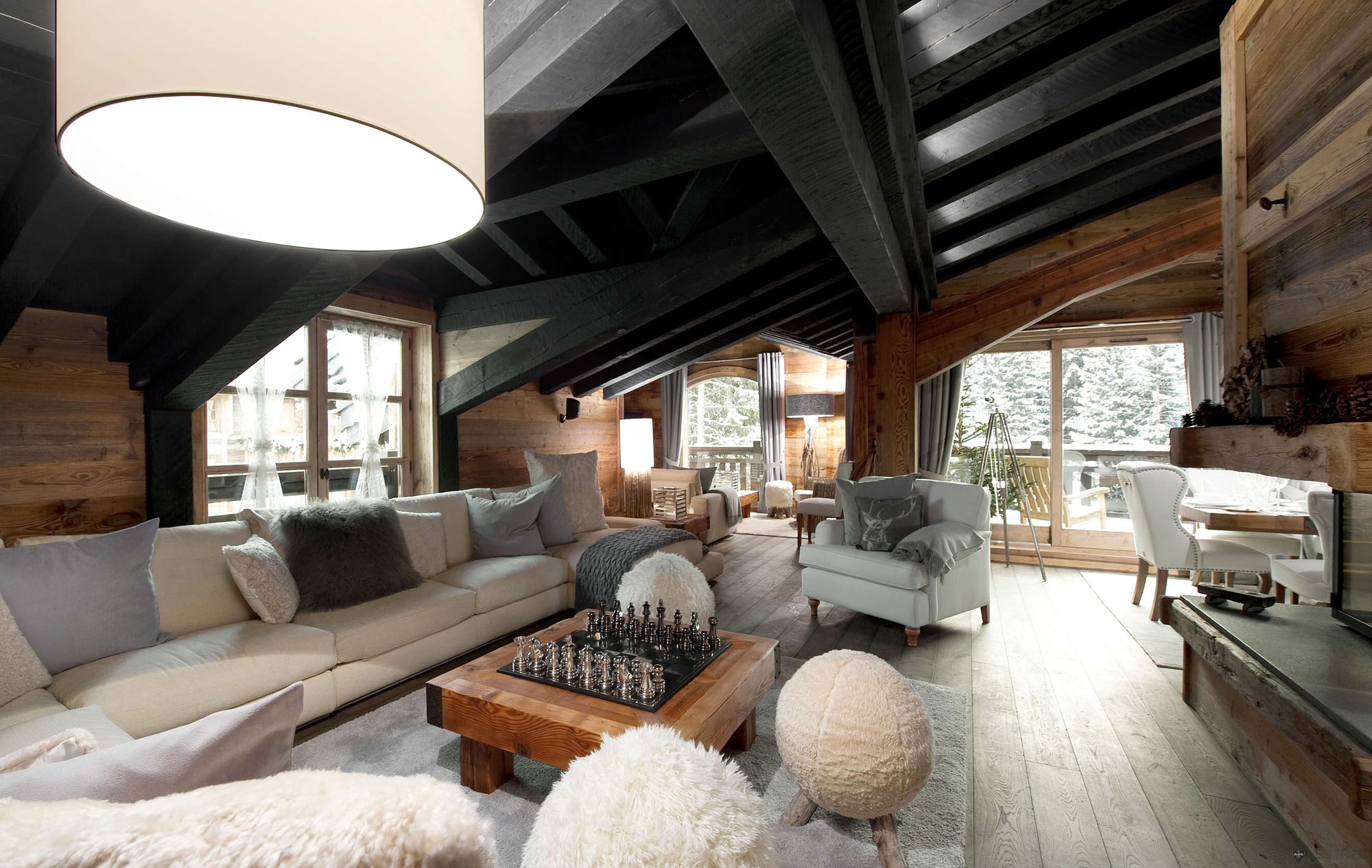 The Petit Chateau 1850  Courchevel  France 1  HomeDSGN
