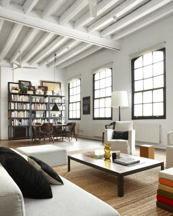 York Style Loft In Downtown Barcelona Shoot 115 Homedsgn