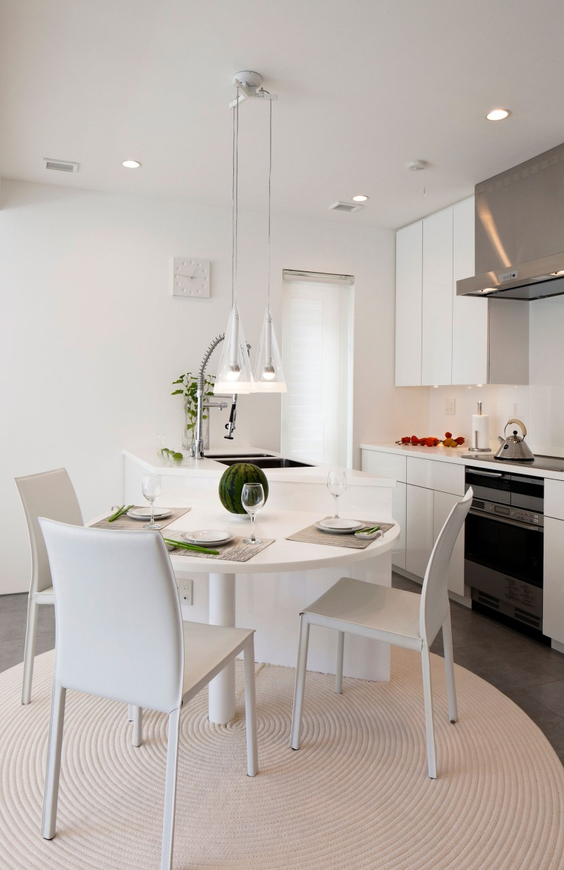 Modern Zen Design House by RCK Design  HomeDSGN