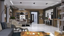 Modern Villa In Dammam Mokhles Mohamed 3 Homedsgn