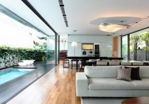 Modern Home Living Room to House