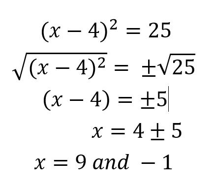 Solving Quadratic Equations Formula Quiz Quizlet