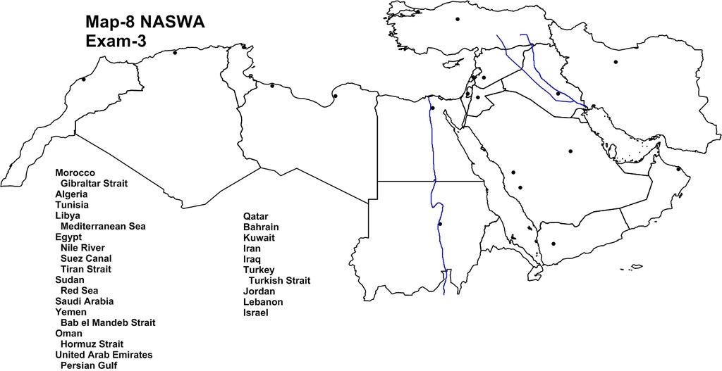 Mediterranean Map Quizlet