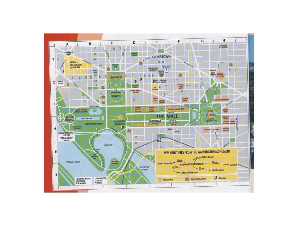 hight resolution of map of washington dc