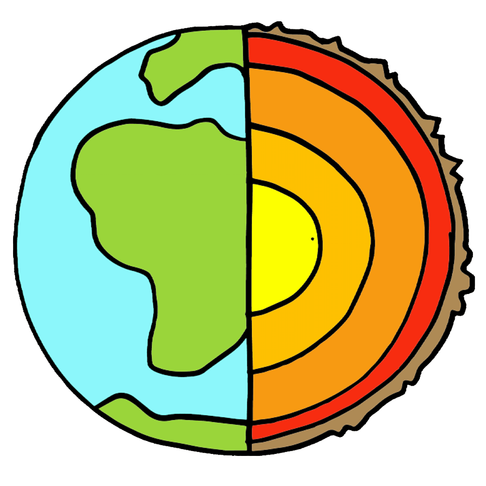hight resolution of earth structure vocabulary