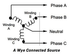 High Voltage Wye Diagram Low Voltage Diagram Wiring