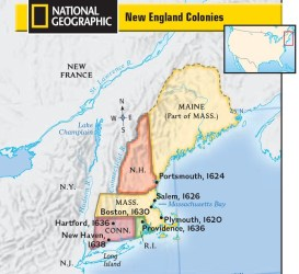 New England Colonies Diagram Quizlet