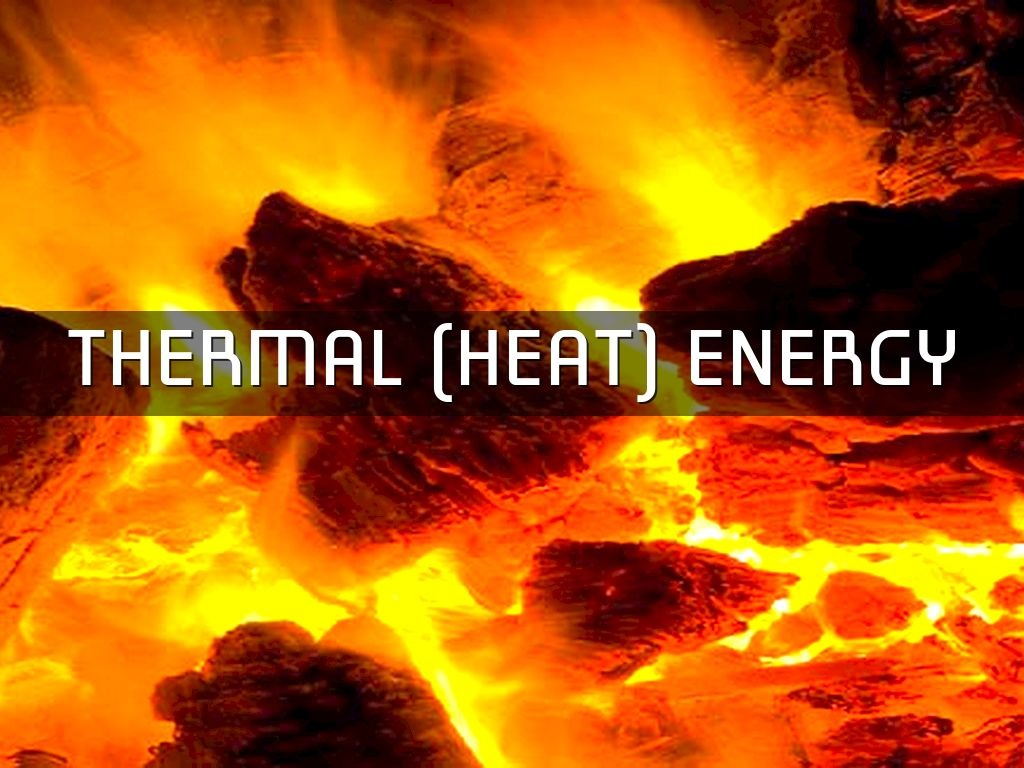 hight resolution of thermal energy