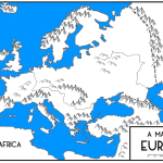 6th Grade Map Of Europe S Physical Features Diagram Quizlet