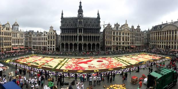 bruxelles le tapis de fleurs de retour