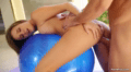 Alexis Adams Gets Fucked On A Ball