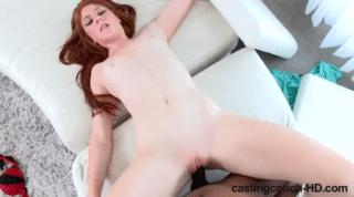 Redhead Teen Fucking Big Cock