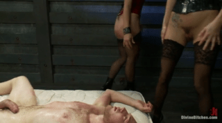 Slaveboy Uses His Fat Cock Well, He Loves Sex