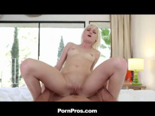 Blonde Teens Pussy Filled Well