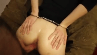 Handcuffed Blind Fold Ass Fucked