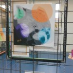 Panda roux, peinture de O²