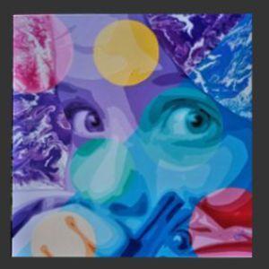peinture de l'artiste O²