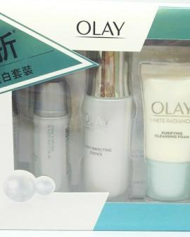 Olay 水感透白淡斑精華套裝 (小白瓶)