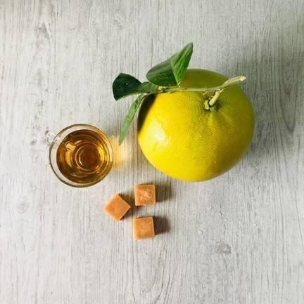 冰糖蜂蜜柚子茶