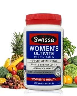 【🇦🇺澳洲出口 Swisse女性Ultivite多種維生素120片】