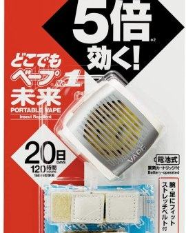 【🇯🇵日本 VAPE 5倍嬰童攜帶型電子驅蚊手錶】