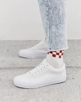 【Vans白色板鞋】E0907202113