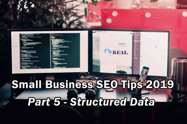 Small Business SEO Tips 2019 - Part 5 - Structured Data
