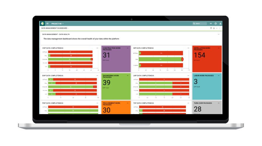O3 Data Advanced Work Packaging
