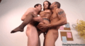 Liza Del Sierra Gets Sandwiched By Two Job Candidates