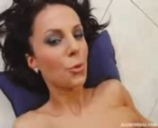 Perfect Euro Brunette With Big Natural Titties