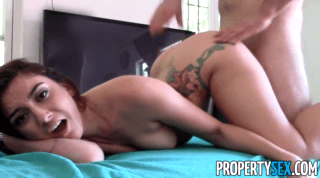Permitting His Fat Cock Inside Her Tight Pussy