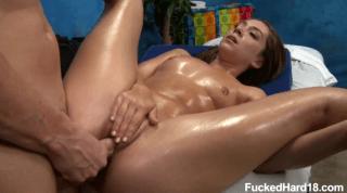 Oily Vixen Fucked