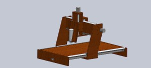 CNC Casera Diseño CAD