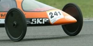 Detalle de las ruedas delanteras